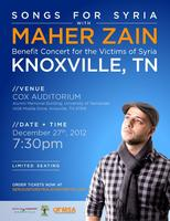 MAHER ZAIN: Songs for Syria