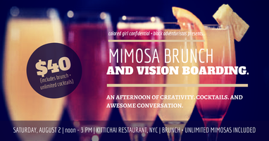 Women of Color Mimosa Brunch + Vision Boarding