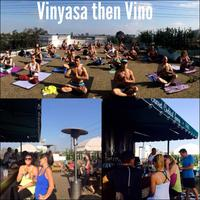 Vinyasa then Vino on the Rooftop of The Palihouse