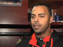 Nelson Cruz Autograph Signing at Adams Jeep of Maryland