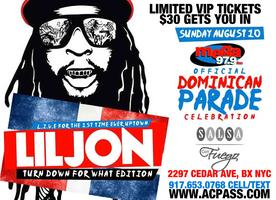 LIL JON & Guests performs for DR Parade After Party at...