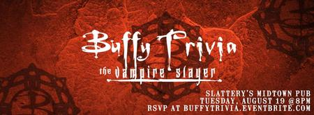 Buffy the Vampire Slayer (TV) Trivia