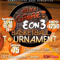 Who Got Game? Annual 3 on 3 Competition