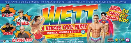 WETT | A HEROES POOL PARTY