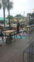Outdoor Yoga at the Station!