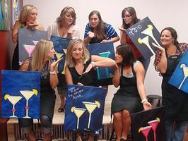 Sophisticates Get Artsy! Painting With A Twist!