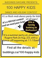 The 100 Happy Kids Dance and Holiday Contest!