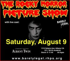 Rocky Horror at the Albany Twin, Saturday August 9