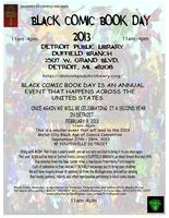 BLACK COMIC BOOK DAY 2013 (#bcbd13)