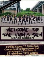 The Den Dance Company Presents: Welcome to The Lion's...