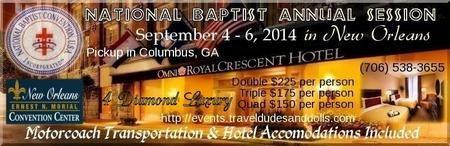 National Baptist Annual Session Weekend Package