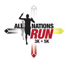All Nations Run logo