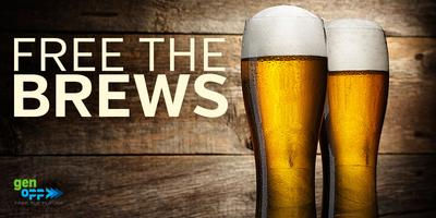 Free the Brews with GenOpp in Raleigh - August 15th