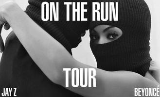 Beyonce & Jay z on the run Pasadena