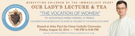 Our Lady's Lecture and Tea