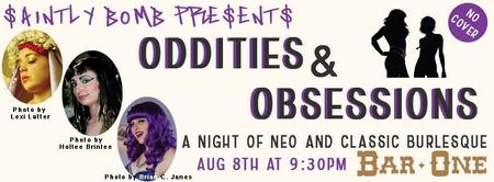 """OddITIES & OBSESSIONS """"A Night of Neo & Classic..."""