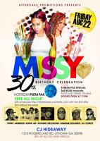 Afterdark missy 30 th bday Leo Virgo fete