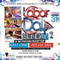 Labor Day Weekend Sunday at SKYROOM Rooftop, No Cover...
