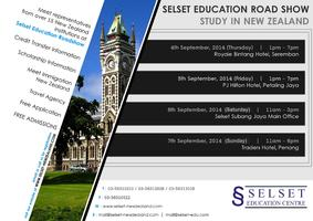 Selset New Zealand Education Roadshow