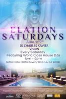Elation Saturday Pool Parties w/ Charles Xvaier