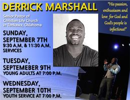 A Morning With Derrick Marshall