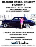 Classic Cars & Comedy/Sat. Aug. 16