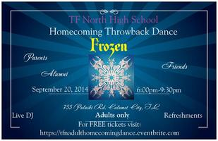 Frozen-TFN Adult Homecoming Dance