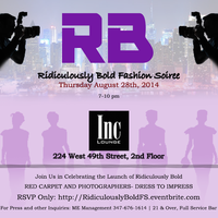 Ridiculously Bold Fashion Soiree
