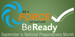 WHS National Preparedness Month Event