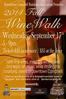 Downtown Campbell Fall Wine Walk (09/17/14)