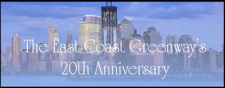 East Coast Greenway 20th Anniversary Kickoff...