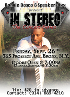In Stereo Concert Series with Donnie Bosco