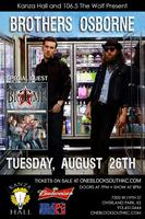 Brothers Osborne with Special Guest Big Time Grain Comp...