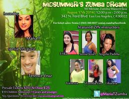 Mid Summer's Zumba Party Work Out