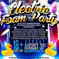 ELECTRIC FOAM PARTY!