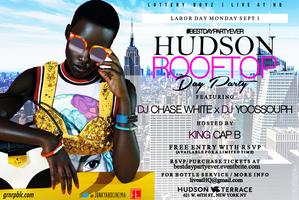 The Official NYC Labor Day RoofTop Day Party...