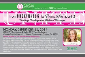 Gap Gals Unite: Free Event (From BROKENNESS to...