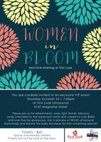 Women in Bloom :: An Exclusive Night at First Look