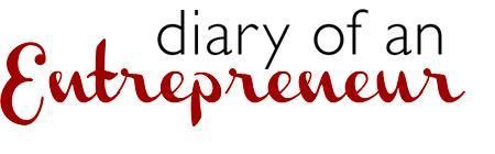 Diary of an Entrepreneur