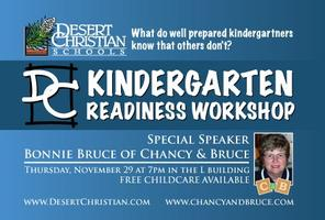 Courageous Parenting: Kindergarten Readiness Workshop