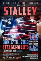 STALLEY LIVE IN HOUSTON | TX: THURSDAY JAN 17TH @...