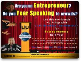 LIU Brooklyn Toastmasters for Entrepreneurs