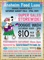 Summer Sale & Dog Wash