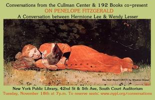 On Penelope Fitzgerald: Hermione Lee and Wendy Lesser