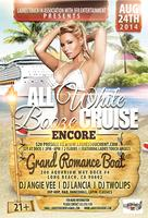 ALL WHITE BOOZE CRUISE AUG 24TH 4 WOMEN WHO LOVE WOMEN...