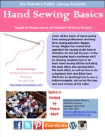Hand Sewing Basics with Hoboken's M Avery Designs
