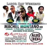Machel Montano HD, Lyrikal, 5 Star Akil, Leadpipe,...