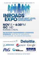 INROADS Expo: Internship Panel Sponsored by SGA