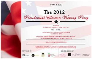 The 2012 Presidential Election Night Viewing Party