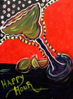 "Creole Canvas - ""Margaritaville"" - (SOLD OUT)"